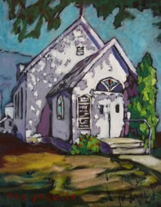 Preville-Tea,-Lutheran-Church,-8x10---SOLD