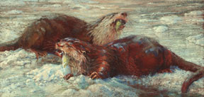 Sharon-Bamber,The-Ice-Fishers,-18-x-36-soft-pastel