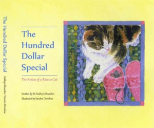The-Hundred-Dollar-Special-the-Antics-of-a-Rescue-Cat-watercolour-Sandra-Donohue-AFCA