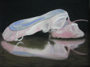 Wilma-Brooks-Hughes,-After-the-Dance,-8.0x10.75,-pastel-on-paper,-$400
